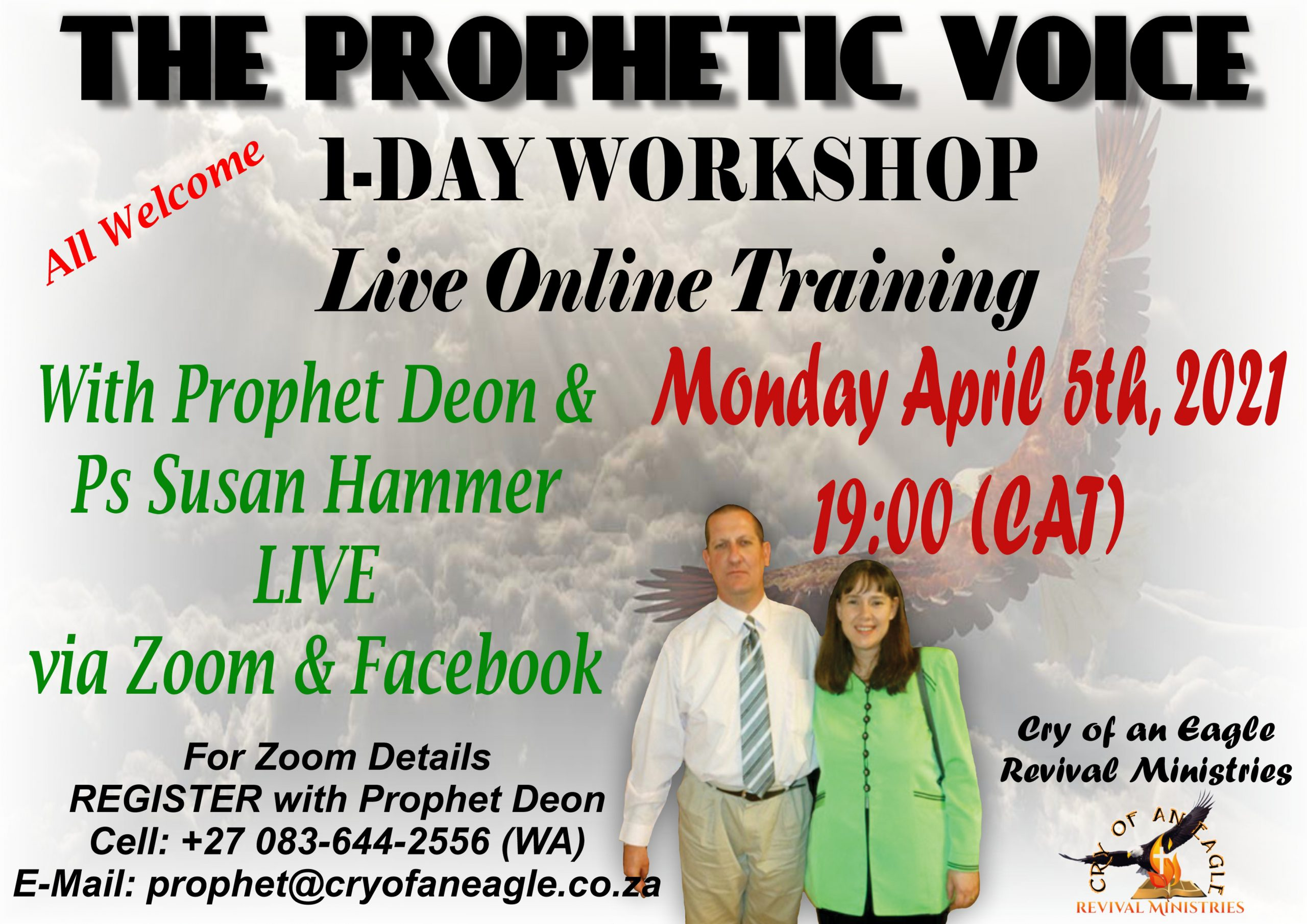 Online Training to Start on Monday April 5th, 2021